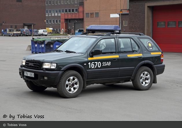 Oxelösund - Industribrandkår SSAB AB - Personbil - 2 40-1670 (a.D.)