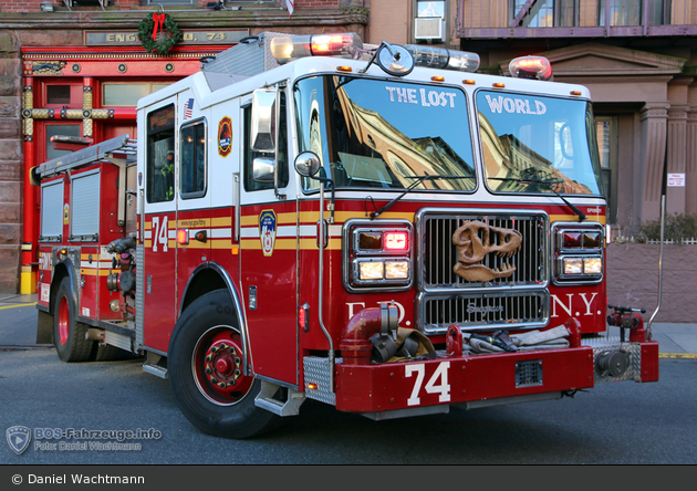 FDNY - Manhattan - Engine 074 - TLF