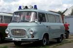 Beuster - Blaulichtmuseum Beuster - KT - Barkas B1000 Kriminaltechnik