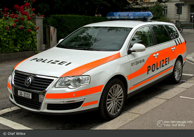 St. Gallen - StaPo - Patrouillenwagen