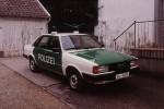 Glücksburg - Audi 80 - Funkstreifenwagen (a.D.)