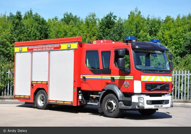 Ashton-under-Lyne - Greater Manchester Fire & Rescue Service - USARU