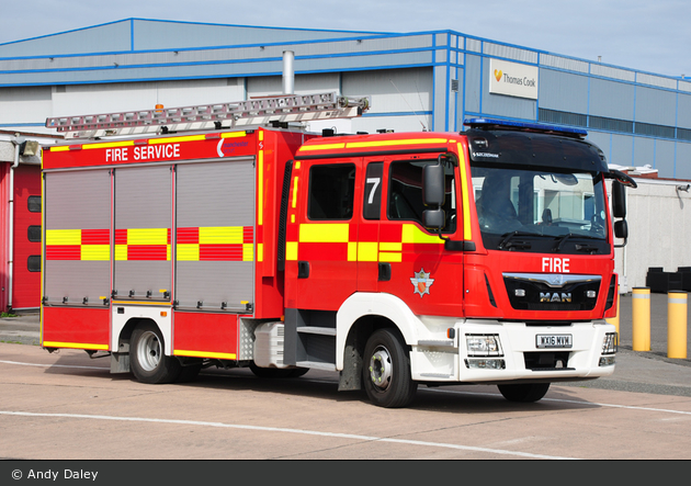 Manchester Airport - Fire Service - DFV