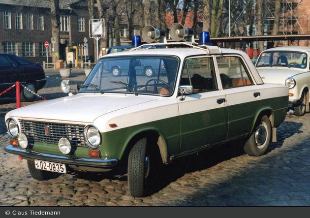 Boizenburg/Elbe - Lada 1200 - FuStW (a.D.)