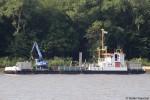 WSA Hamburg - Ufereinbaugerät - Juelssand
