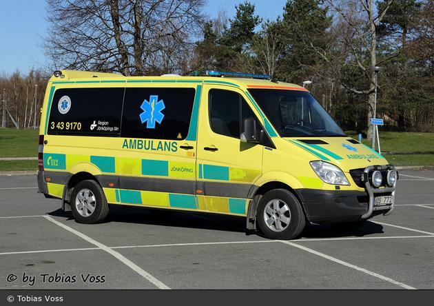 Jönköping - Ambulanssjukvård Jönköpings Län - Ambulans - 3 43-9170