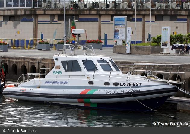 """Funchal - Guarda Nacional Republicana - Küstenstreifenboot """"Falcão da Madeira"""""""