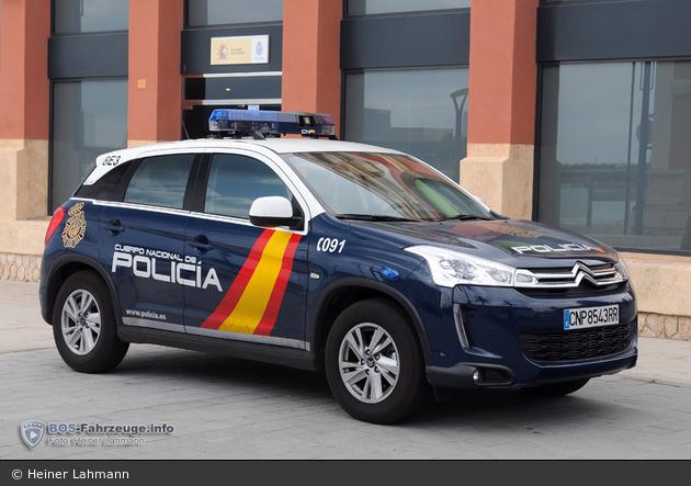 Tarragona - Cuerpo Nacional de Policía - FuStW - 8E3
