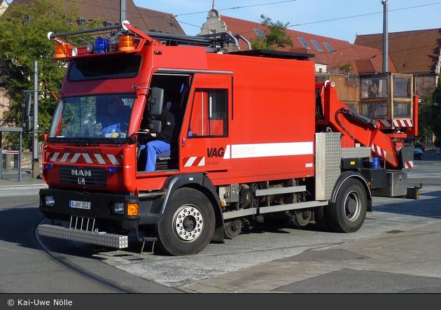Nürnberg - VAG Nürnberg - Zweiwege-Oberleitungsmontagefahrzeug - V51-002