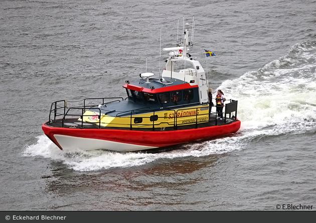 """Höllviken - Sjöräddningssällskapet - Seenotrettungsboot """"12-29 Postkodlotteriet"""""""