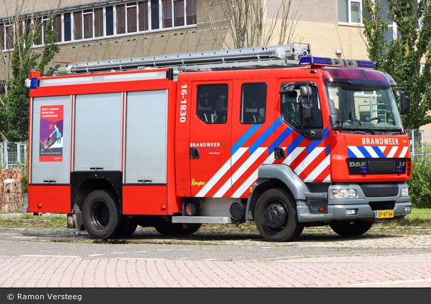 Noordwijk - Brandweer - HLF - 16-1830