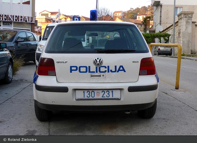 Šibenik - Policija - FuStW
