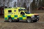 Ånge - Landstinget Västernorrland - Ambulans (3 13-9210)