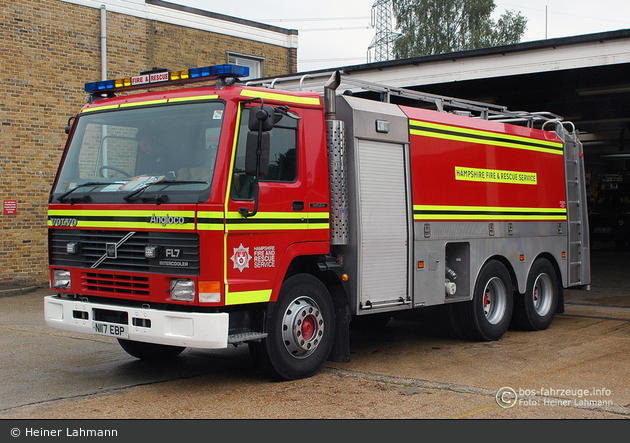 Eastleigh - Hampshire Fire and Rescue Service - WrC / FoT