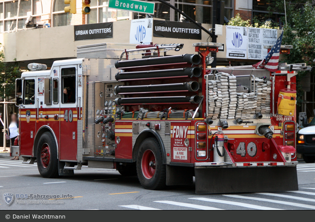 FDNY - Manhattan - Engine 040 - TLF