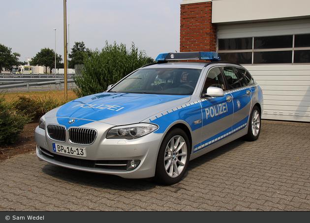 BP16-13 - BMW 520d Touring - FuStW (a.D.)