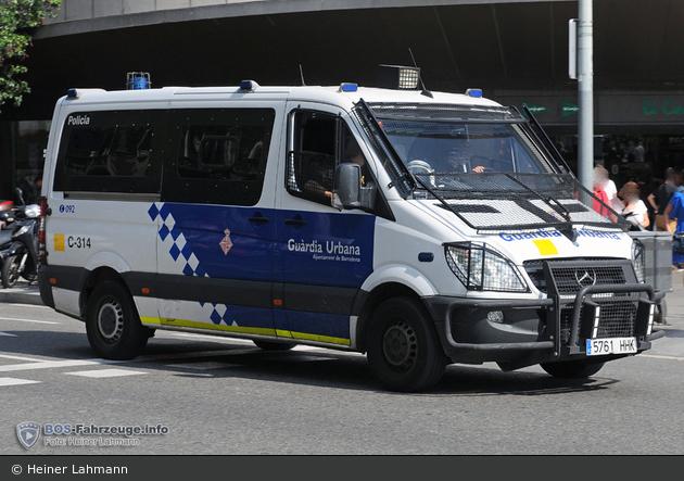 Barcelona - Guàrdia Urbana - HGruKW