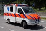 Davos - Spital Davos Rettungsdienst - RTW - Dumeni 1