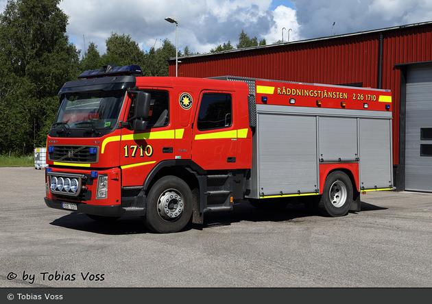 Gävle - Industribrandkår BillerudKorsnäs AB - Släck-/Räddningsbil - 2 26-1710