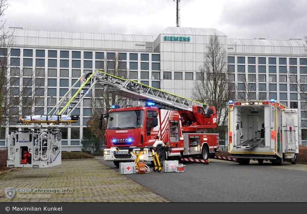 BY - Erlangen - BRK und WF Siemens Hand in Hand