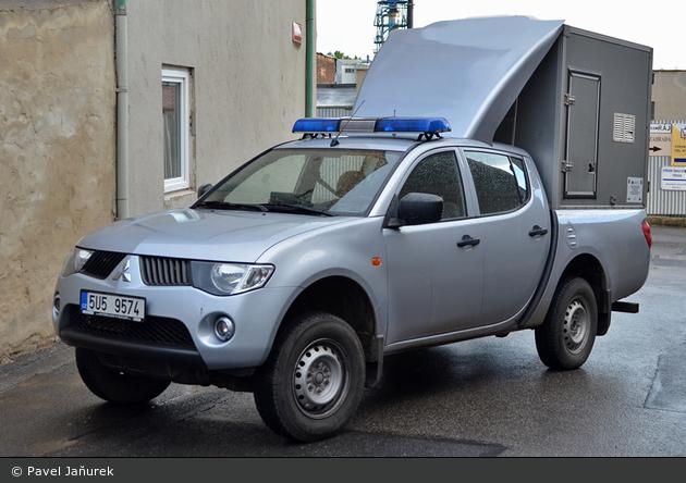 unbekannter Ort - Policie - DHuFüKw - 5U5 9574
