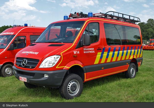 Wuustwezel - Brandweer - MTW - W14