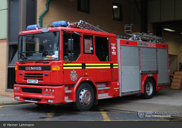 Birmingham - West Midlands Fire Service - PrL