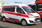 Ford Transit Custom - CB-Ambulanz Vermietung - KTW