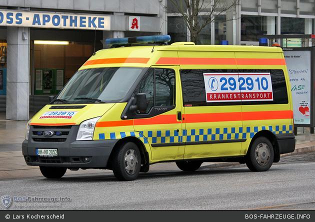 292910 Krankentransport Hamburg - KTW (HH-HR 2052)