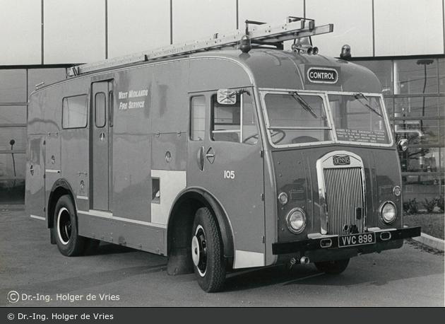 Coventry - West Midlands Fire Service - CU/ET (a.D.)
