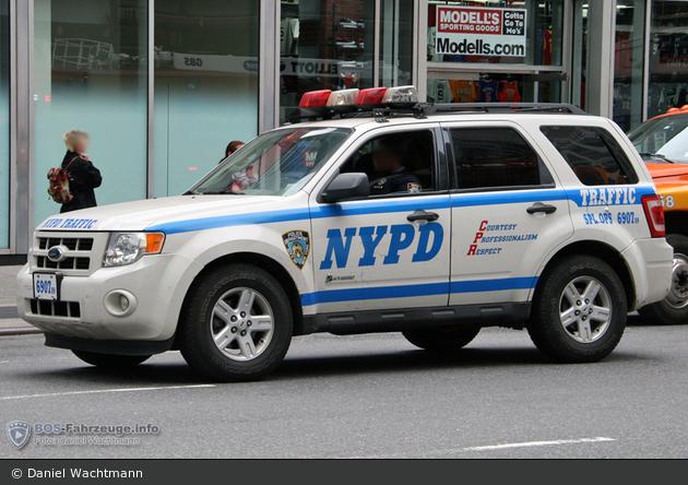 NYPD - Manhattan - Traffic Enforcement District - FuStW 6907