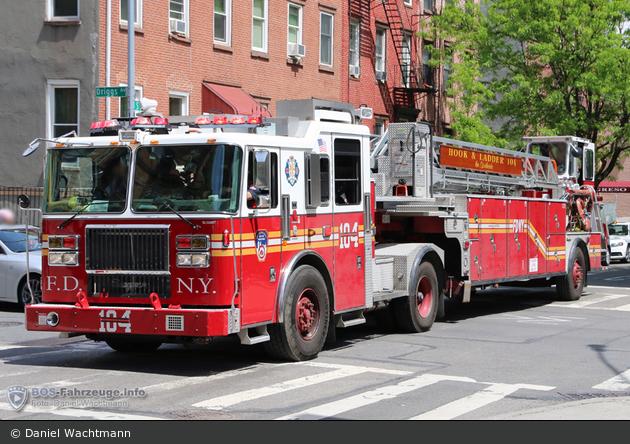 FDNY - Brooklyn - Ladder 104 - DL