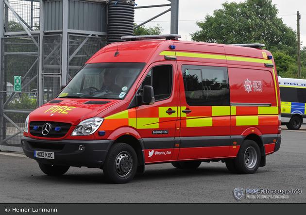 Basingstoke - Hampshire Fire and Rescue Service - SFV