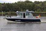 WSP 43 - Polizeistreifenboot