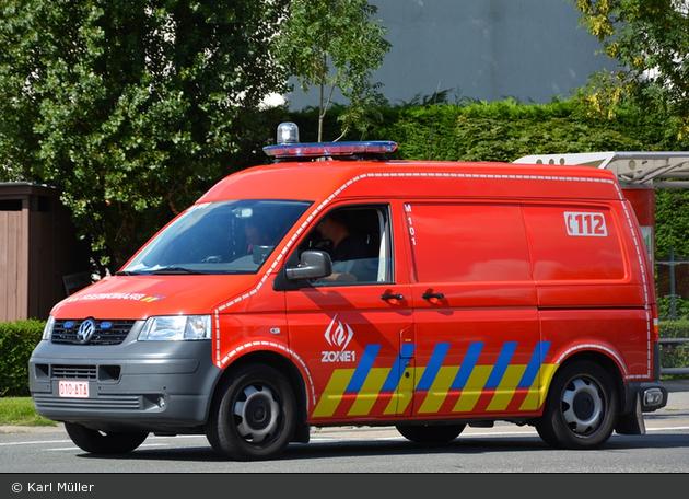 Knokke-Heist - Brandweer - GW - M101