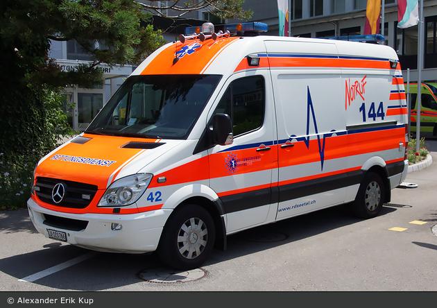 Hochdorf - Rettungsdienst Seetal - RTW - Seetal 42