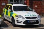 Newbury - South Central Ambulance Service - RRV
