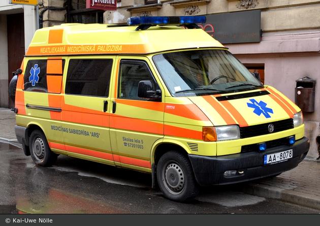 Rīga - Medicīnas Sabiedrība ARS - NAW