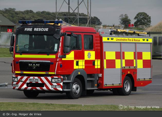 Stamford - Lincolnshire Fire & Rescue - WrL/R
