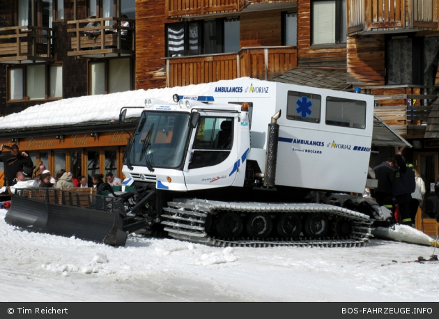 Avoriaz - Ambulances Boccard - RTW