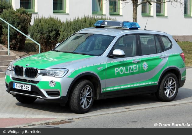 R-PR 645 – BMW X3 – FuStW