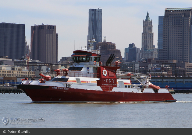FDNY - Marine Division - Three Forty Three