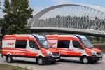 CZ - Praha  Ambulance Meditrans - NAW 152 & 153