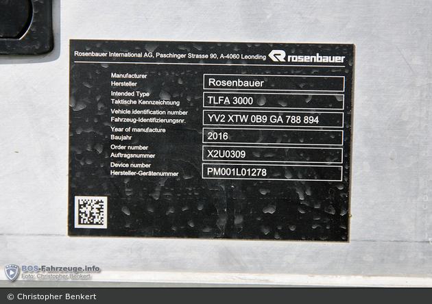 Eschen - FW - TLF 3000/200 - 1