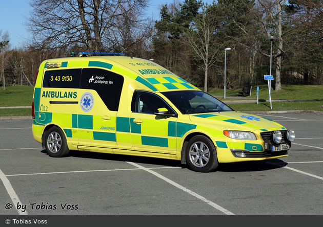 Jönköping - Ambulanssjukvård Jönköpings Län - Ambulans - 3 43-9130 (a.D.)