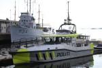 Oslo - Politi - Küstenstreifenboot VEKTEREN