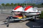 Bardolino - Vigili del Fuoco - Jetboot-Anhänger