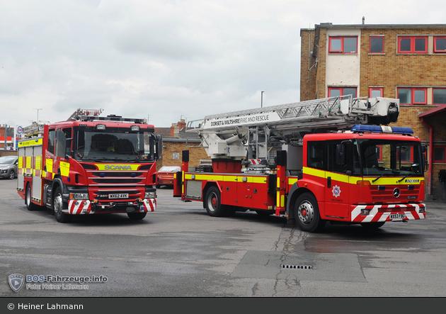 GB - Swindon - Dorset & Wiltshire Fire and Rescue Service - WrL/R & ALP