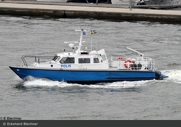 Göteborg - Polis - Küstenstreifenboot 1 59-3720