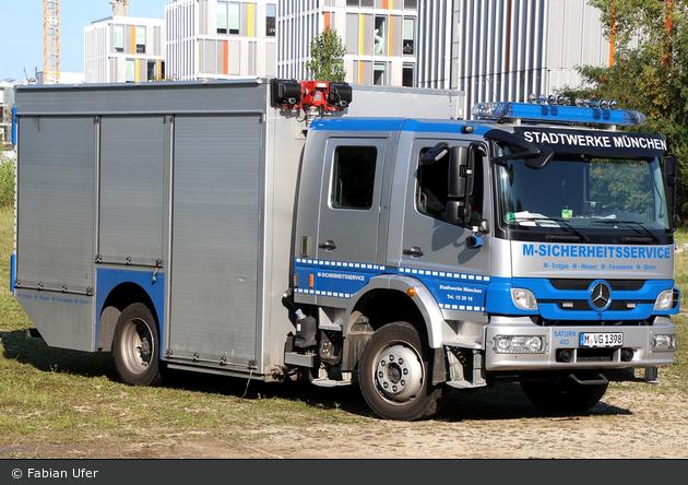 München - Stadtwerke München - Entstörfahrzeug SAT433